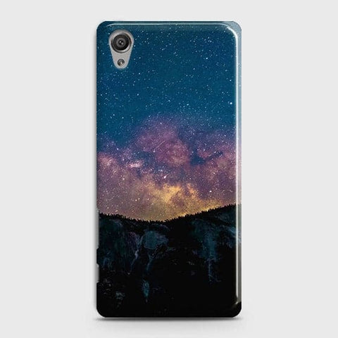 Embrace, Dark Galaxy 3D Trendy Case For Sony Xperia XA