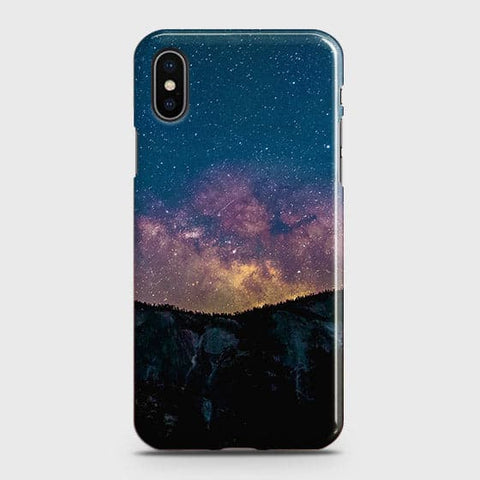 Embrace, Dark Galaxy 3D Trendy Case For iPhone XS Max