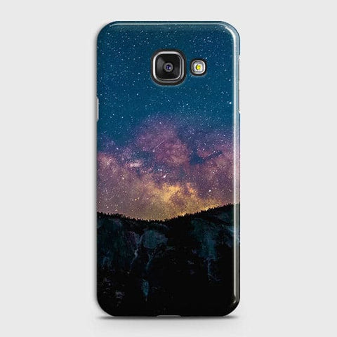 Samsung Galaxy A710 (A7 2016) Cover - Embrace, Dark  Trendy Printed Hard Case With Life Time Colour Guarantee