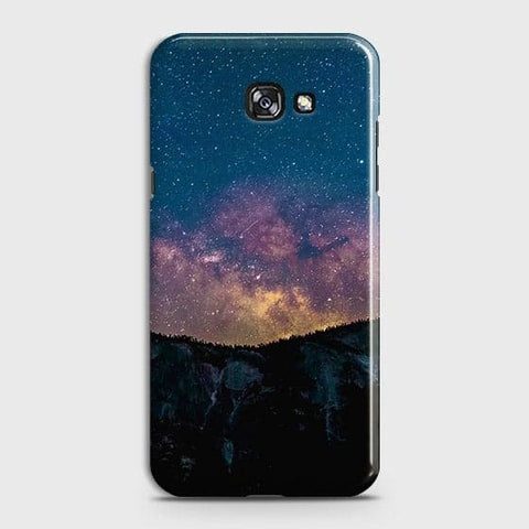 Samsung A7 2017 Cover - Embrace, Dark  Trendy Printed Hard Case With Life Time Colour Guarantee