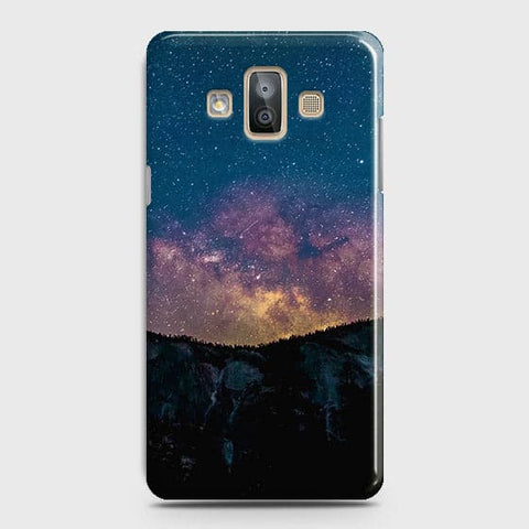 Embrace, Dark Galaxy 3D Trendy Case For Samsung Galaxy J7 Duo