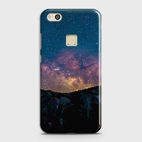 Embrace, Dark Galaxy 3D Trendy Case For Huawei P10 Lite
