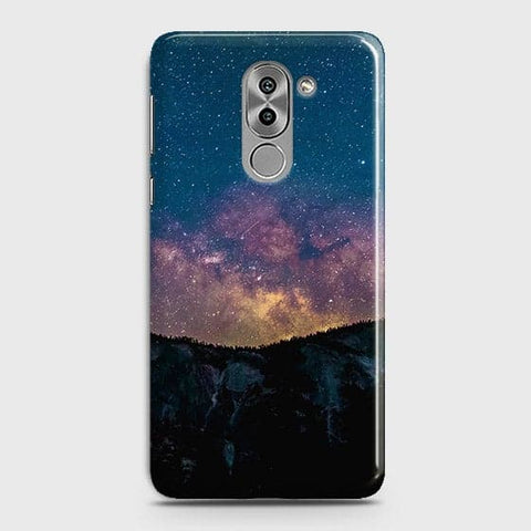 Embrace, Dark Galaxy 3D Trendy Case For Huawei Honor 6X