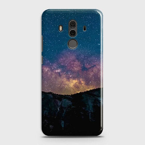 Embrace, Dark Galaxy 3D Trendy Case For Huawei Mate 10 Pro