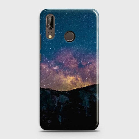 Embrace, Dark Galaxy 3D Trendy Case For Huawei P20