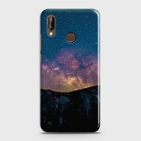 Huawei P20 Lite Cover - Embrace, Dark  Trendy Printed Hard Case With Life Time Colour Guarantee