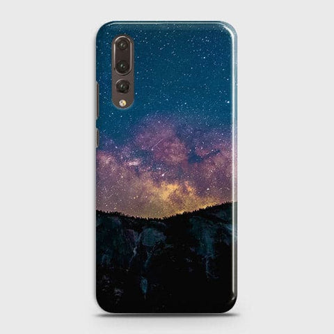 Huawei P20 Pro Cover - Embrace, Dark  Trendy Printed Hard Case With Life Time Colour Guarantee