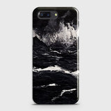 3D Black Ocean Marble Trendy Case For OnePlus 5