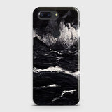3D Black Ocean Marble Trendy Case For OnePlus 5T