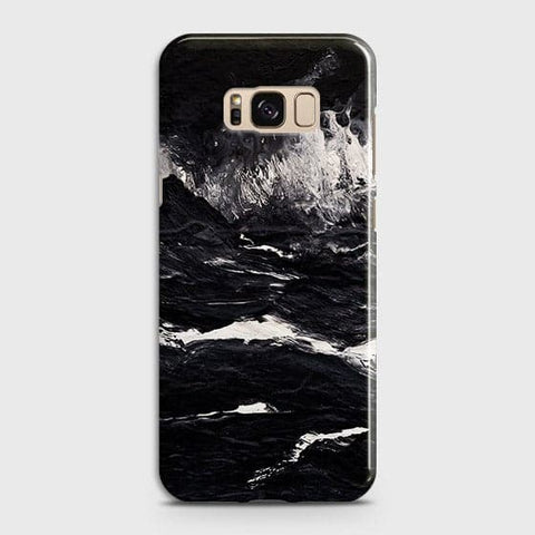 3D Black Ocean Marble Trendy Case For Samsung Galaxy S8