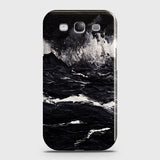 3D Black Ocean Marble Trendy Case For Samsung Galaxy S3