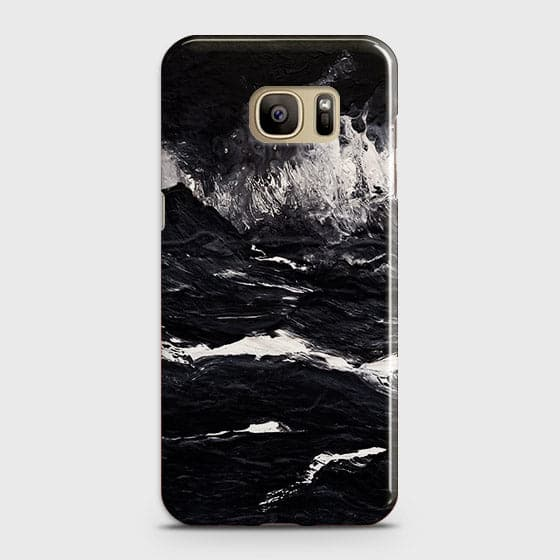 3D Black Ocean Marble Trendy Case For Samsung Galaxy Note 7