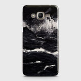 3D Black Ocean Marble Trendy Case For Samsung Galaxy Grand Prime