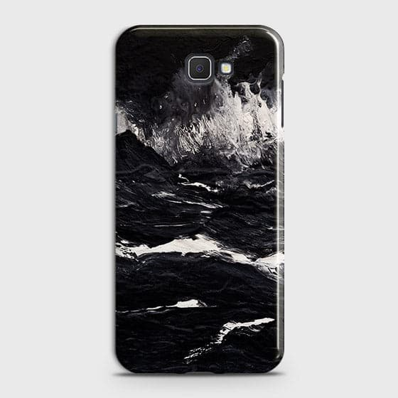 3D Black Ocean Marble Trendy Case For Samsung Galaxy J7 Prime