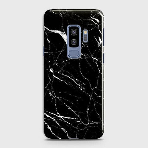 Trendy Black Marble Case For Samsung Galaxy S9 Plus