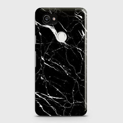 Trendy Black Marble Case For Google Pixel 2 XL