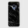 Samsung Galaxy S9 - Trendy Black Marble Printed Hard Case With Life Time Colour Guarantee