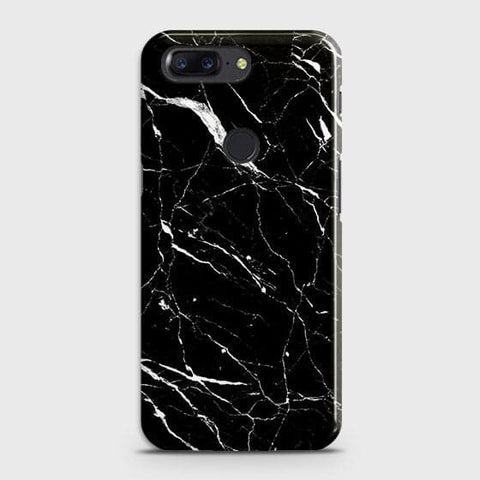 Trendy Black Marble Case For OnePlus 5T