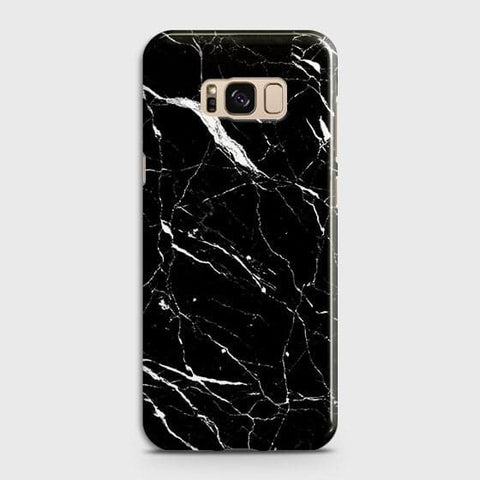 Trendy Black Marble Case For Samsung Galaxy S8 Plus