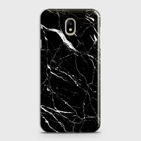 Trendy Black Marble Case For Samsung Galaxy J7 2018