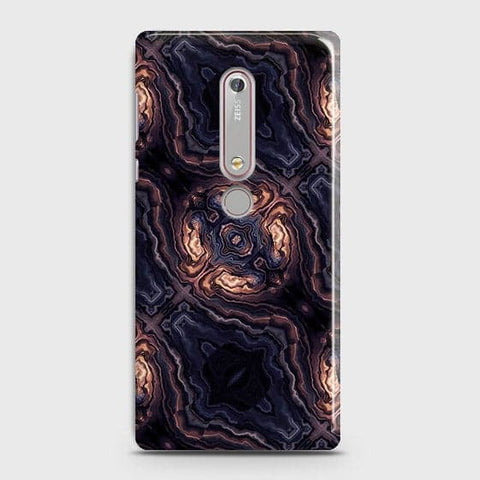 Nokia 6.1 - Source of Creativity Trendy Printed Hard Case With Life Time Guarantee