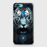 Vintage Galaxy 3D Tiger  Case For Huawei Honor 9 Lite