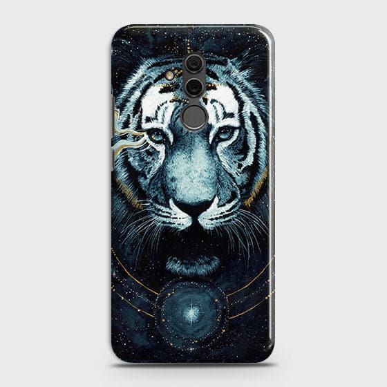 Vintage Galaxy 3D Tiger  Case For Huawei Mate 20 Lite