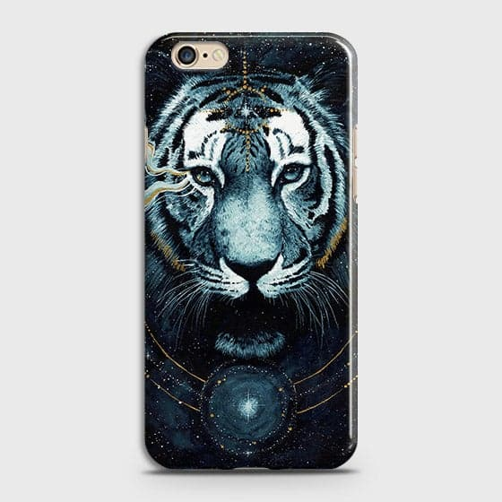 Oppo A57 Cover - Vintage Galaxy Tiger Printed Hard Case with Life Time Colors Guarantee - OrderNation