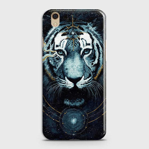 Vintage Galaxy 3D Tiger  Case For Oppo F1 Plus / R9 Cover - Vintage Galaxy Tiger Printed Hard Case with Life Time Colors Guarantee - OrderNation