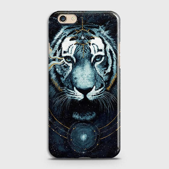 Vintage Galaxy 3D Tiger  Case For Oppo F3 Plus