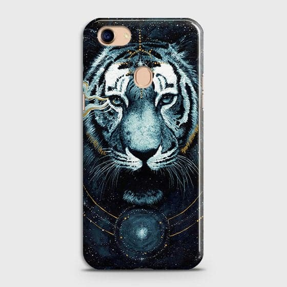 Vintage Galaxy 3D Tiger  Case For Oppo F5 / F5 Youth