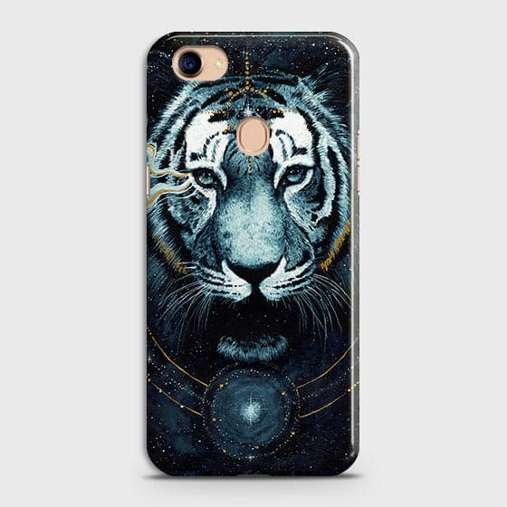 Vintage Galaxy 3D Tiger  Case For Oppo F7