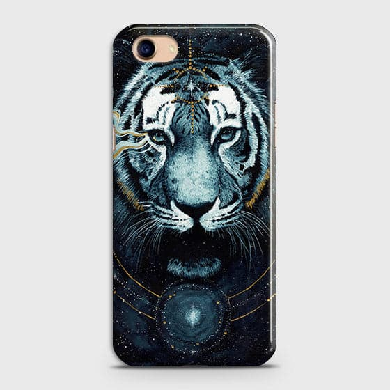 Vintage Galaxy 3D Tiger  Case For Oppo A83