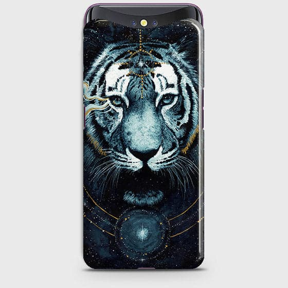 Vintage Galaxy 3D Tiger  Case For Oppo Find X