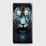 Vintage Galaxy 3D Tiger  Case For Nokia 7 Plus
