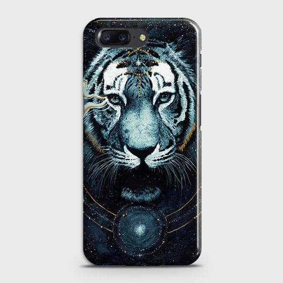 Vintage Galaxy 3D Tiger  Case For OnePlus 5