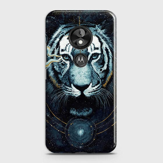 Vintage Galaxy 3D Tiger  Case For Motorola Moto E5 / G6 Play - OrderNation