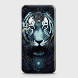 Vintage Galaxy 3D Tiger  Case For Motorola Moto G6