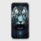 Vintage Galaxy 3D Tiger  Case For Motorola Moto G6 Plus