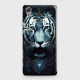 Vintage Galaxy 3D Tiger  Case For Sony Xperia XA