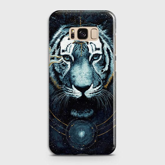 Vintage Galaxy 3D Tiger  Case For Samsung Galaxy S8 Plus