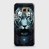 Vintage Galaxy 3D Tiger  Case For Samsung Galaxy S6 Edge Plus