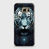 Vintage Galaxy 3D Tiger  Case For Samsung Galaxy S6 Edge