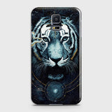 Vintage Galaxy 3D Tiger  Case For Samsung Galaxy S5