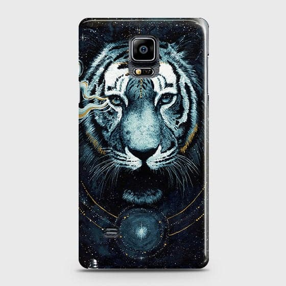 Vintage Galaxy 3D Tiger  Case For Samsung Galaxy Note 4
