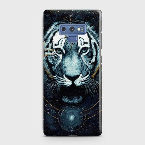 Vintage Galaxy 3D Tiger  Case For Samsung Galaxy Note 9 - OrderNation