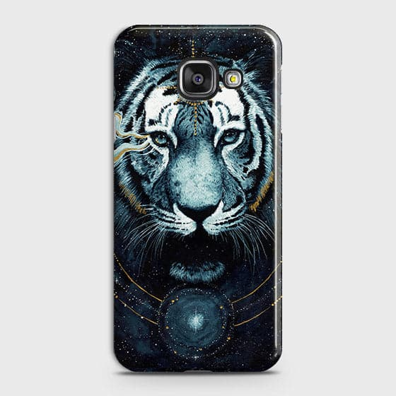 Samsung Galaxy A710 (A7 2016) Cover - Vintage Galaxy Tiger Printed Hard Case with Life Time Colors Guarantee - OrderNation