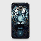 Samsung Galaxy J5 Cover - Vintage Galaxy Tiger Printed Hard Case with Life Time Colors Guarantee - OrderNation
