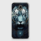 Samsung Galaxy J3 Pro Cover - Vintage Galaxy Tiger Printed Hard Case with Life Time Colors Guarantee - OrderNation