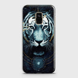 Vintage Galaxy 3D Tiger  Case For Samsung A6 2018